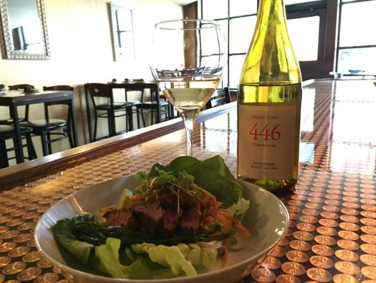 Steak & Avocado Lettuce Wrap at Social on State.