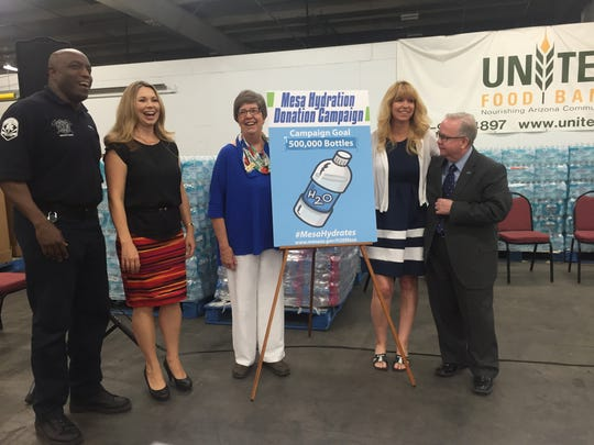The United Food Bank kicked off its 10th Annual Mesa