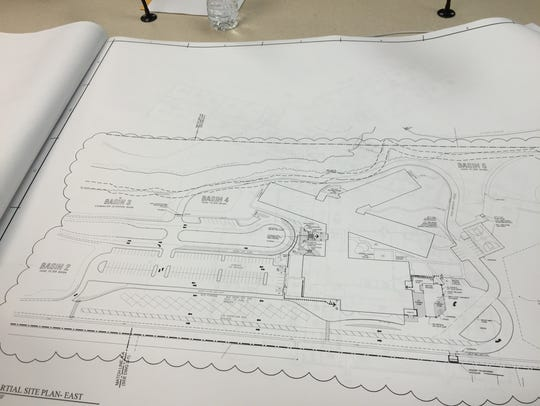 Plans for Middle School No. 2, scheduled for an August