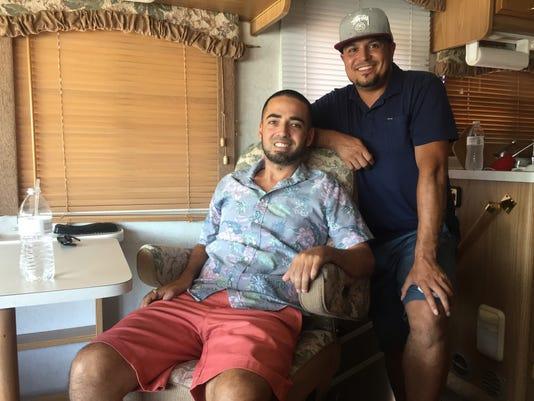 Nate Gallardo and Gerardo Vargas