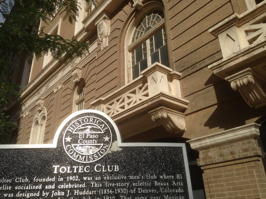 The city has initiated code-enforcement action against the Toltec Club building at 717 E. San Antonio Ave., across the street from the federal building and federal courthouse.