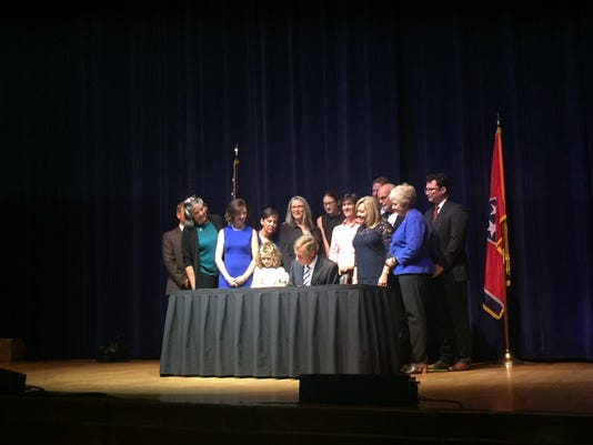 Domestic Violence Bill Signing