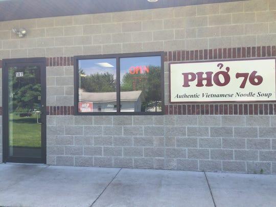 Pho 76 offers Vietnamese food, alongside its famous pho noodle soup.