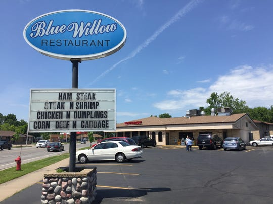 Blue Willow restaurant is known for their hearty comfort food.