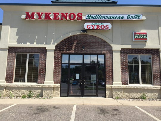 Mykenos Mediterranean Grill is currently closed for a remodel.