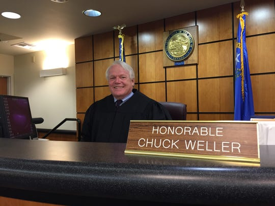 Reno Family Court Judge Chuck Weller said he will retire at the end of this year.