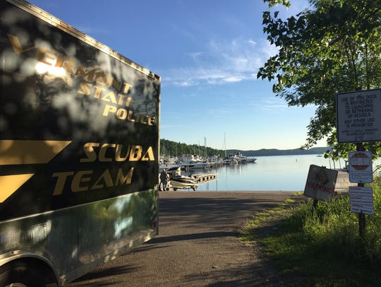 Police resume a search for a missing boater in Malletts