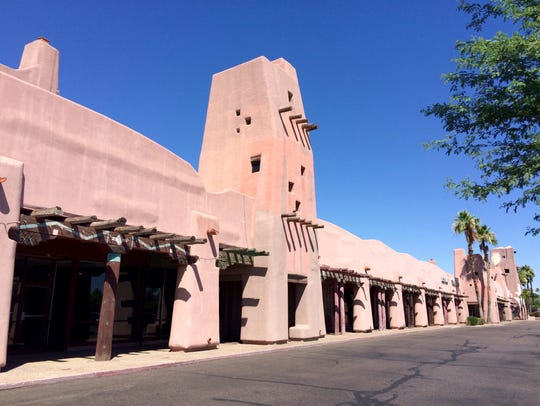 The long-vacant Papago Plaza at McDowell and Scottsdale