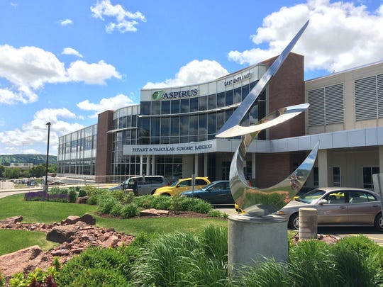 The Medical College of Wisconsin now occupies a space on the Aspirus Wausau Hospital campus. Shown here on June 7, 2016.