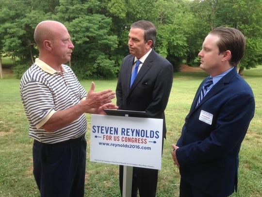 Democratic congressional candidate Steven Reynolds