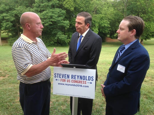 Democratic congressional candidate Steven Reynolds