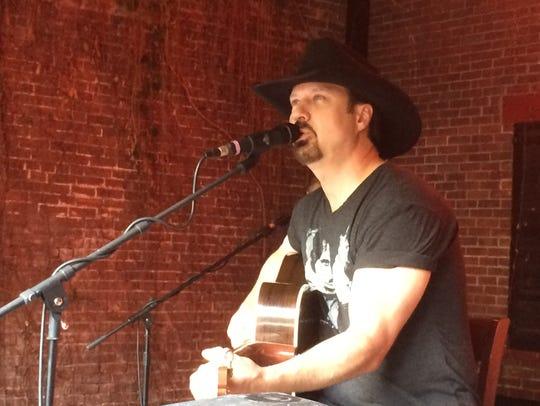 Jamie Lee Thurston performs June 15 at Halvorson's