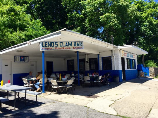Leno's Clam Bar, better known as Greasy Nick's, in