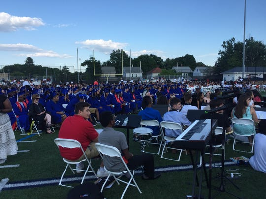 Poughkeepsie High School celebrated graduation on Friday.