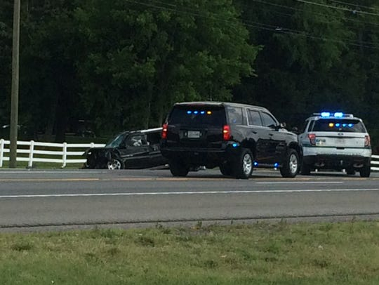 At least one person is dead after a wreck stemming