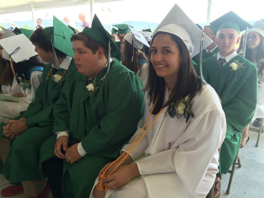 Fifty-six students graduated from Webutuck High School Saturday.
