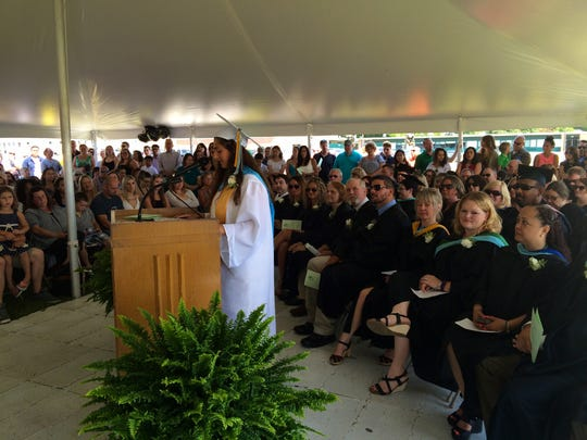 Salutatorian Cassandra Lopane shares fond memories