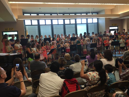 On June 2, third-graders at Copper Hill School in the