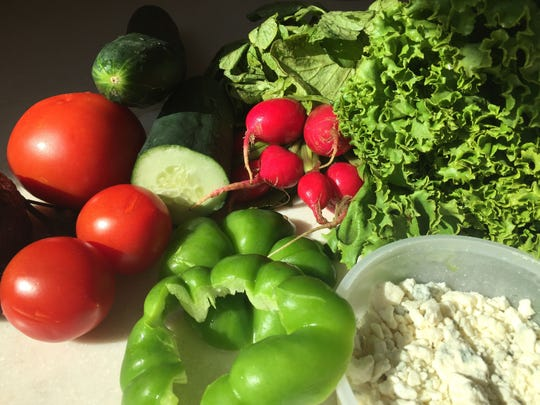 Components of a great summer salad