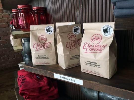 Neidhammer Coffee Co. serves fair-trade, organic Carabello