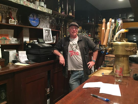 """Craig """"CN"""" Fletcher, the owner of Plan B, a new bar opening in late July a few doors down from the demolition site, says the addition of apartments on Orange Avenue could """"kick start the process"""" of making Suffern a 'humming, vibrant community.'"""