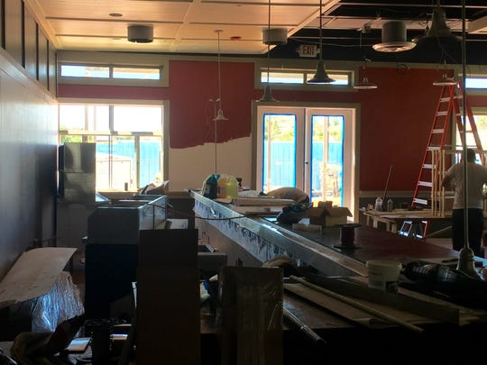 The bar at the new Campo on Los Altos Parkway in Sparks will feature about 80 beers on tap.