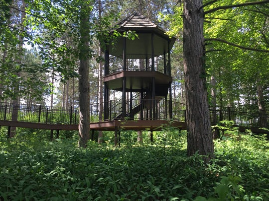 A story will also be located in the tree house, along with an activity for children and families.