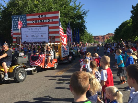 St. George celebrates the Fourth of July with a downtown