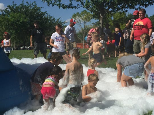 St. George celebrated the Fourth of July on Monday