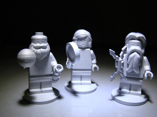 One-of-a-kind Lego figures created for the Juno mission