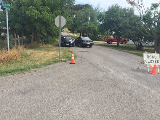 Police are investigating a homicide in Caledonia.