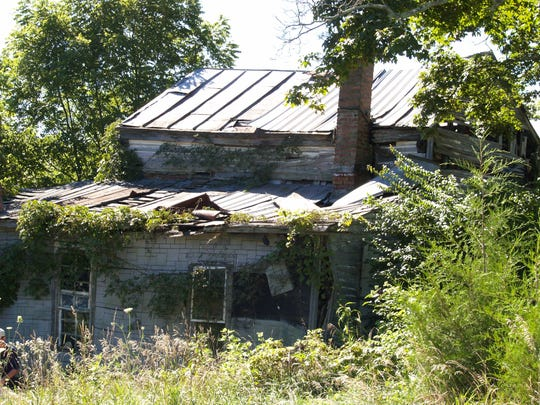 Remnants of the Gatewood home remain at the Bibb/Gatewood Underground Railroad site, which is on privately-owned property in Bedford in Trimble County., Ky.