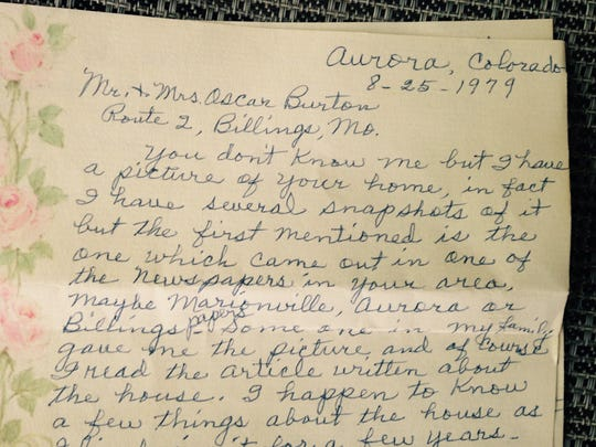 This is a 1979 letter from a Colorado woman who fondly