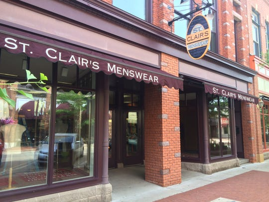 St. Clair's Menswear has been in downtown Wausau for 44 years.