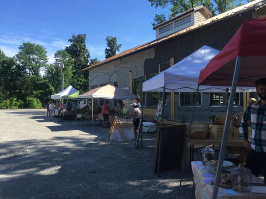 Louismill, an organic pizzeria and bakery rising in Anchorage hosts a Saturday farmers market targeted to consumers craving organic and sustainable goods.
