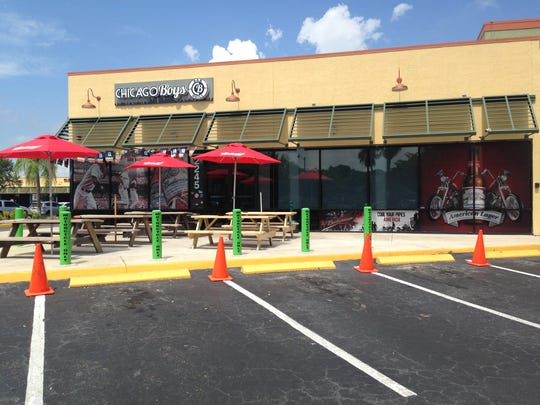 Chicago Boys Bar & Grill opened in January next to the Edison Park 8 Cinemas in Fort Myers.