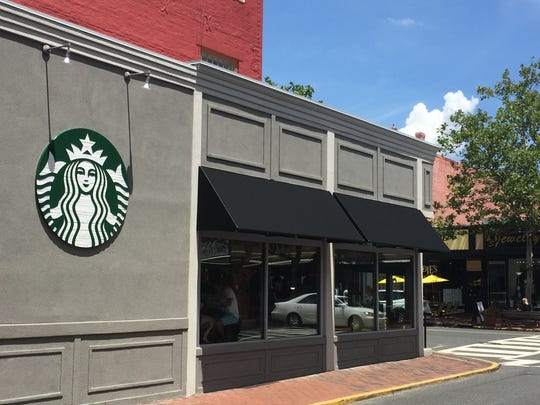 Starbucks in Red Bank. The company says it will raise