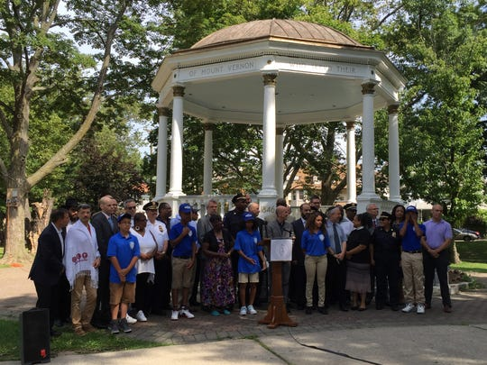Clergy, police officials, youth gather for a unity
