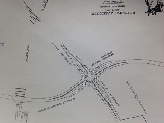 Washington Township has proposed this fix for the intersection