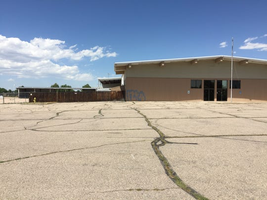 The former United Building Centers at the corner of Harmony Road and Mason Street will soon become a Jeep dealership.