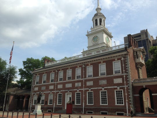 Independence Hall in Philadelphia is a National Historical
