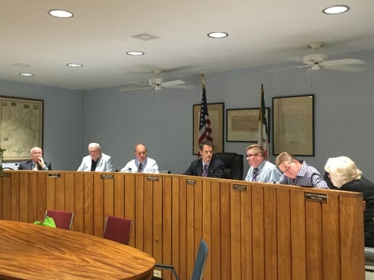 The Town Board passed a strict residency requirement to enter many of its parks, along with hefty registration fees for out-of-towners interested in using the town's green space on Tuesday, July 19, 2016.
