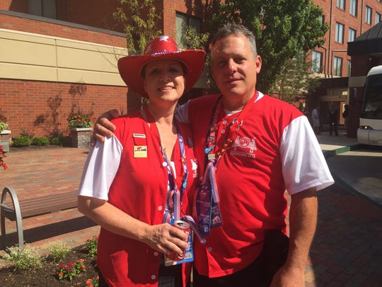 Ken and Penny Crider celebrated their 31st wedding anniversary at the RNC today.