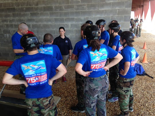 Nearly 120 Civil Air Patrol cadets took part in the