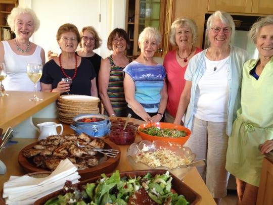 When Candace Page's book group holds a summer potluck