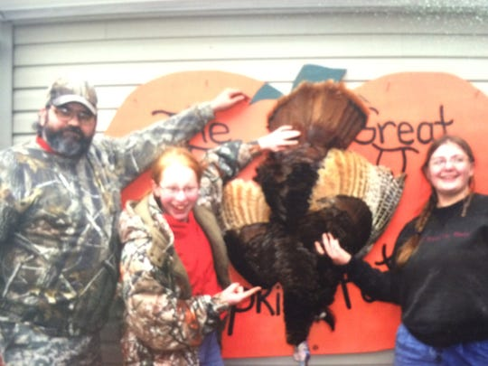 The Portage County Wildlife Fund sends members to Junction City each spring for an annual turkey hunt with members of the United Special Sportsman Alliance.