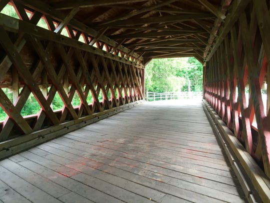 The Sachs Covered Bridge on Friday, July 22, 2016.