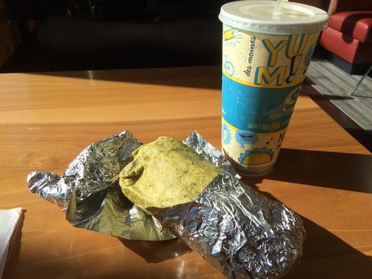 The Fighting Burrito serves burritos in three Iowa