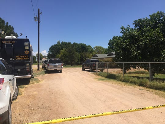 The Maricopa County Sheriff's Office was investigating