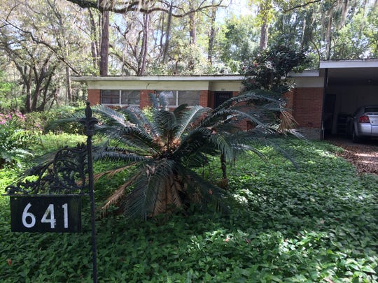 The Sims family lived in this home at 641 Muriel Drive, when they were killed by unknown assailants on Oct. 22, 1966. The murders remain among the most shocking in Tallahassee history.